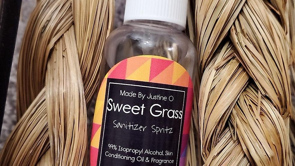 Sweetgrass Sanitizer Spritz
