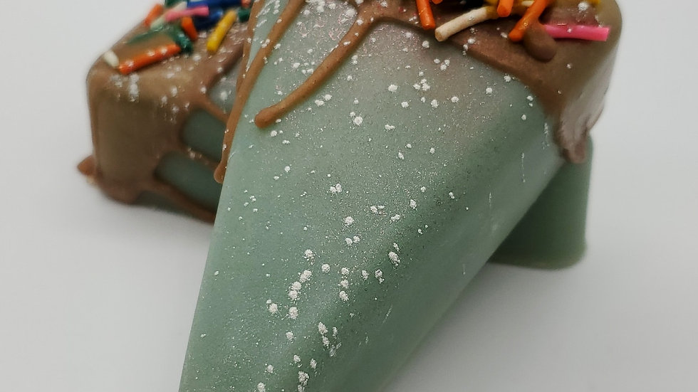 Chocolate Mint Pie Slice