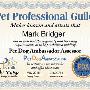 PPG pet dog ambassador