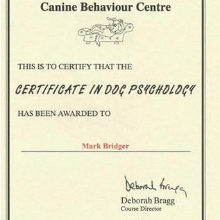 Dog Psycology Cert