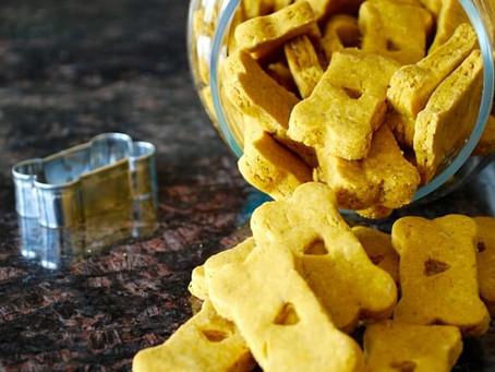 Peanut Butter & Pumpkin Gluten-Free Biscuits