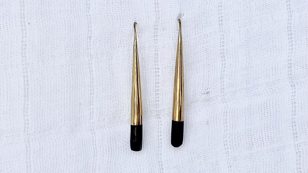 Black Honey Earrings