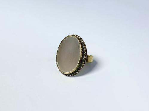 Beige Beauty Ring