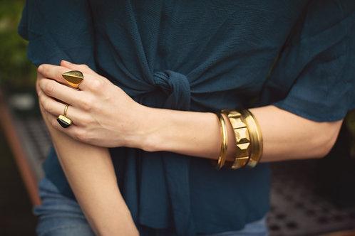 Recycled Brass Bracelet