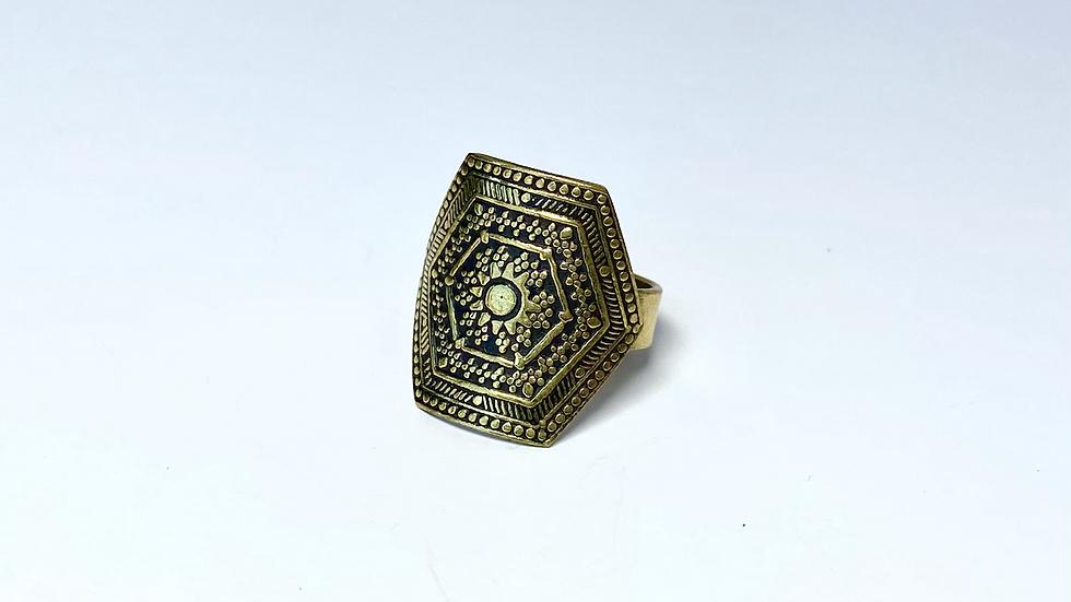 Sunlight Brass Ring
