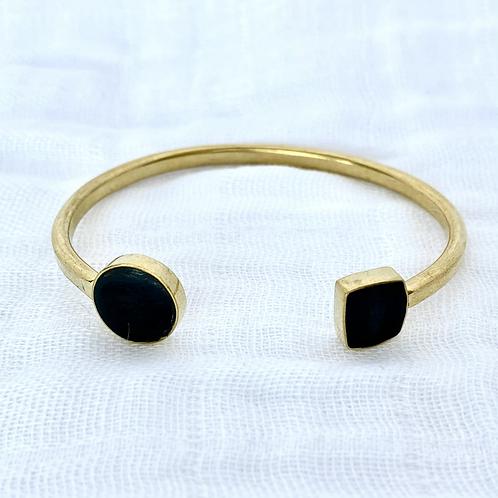 Black Geo Bracelet