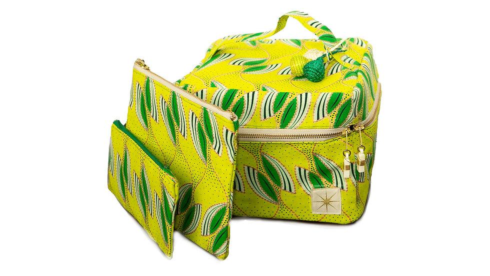 Kiwi Crush Makeup Bag