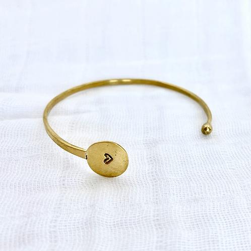 Heart Wink Bracelet