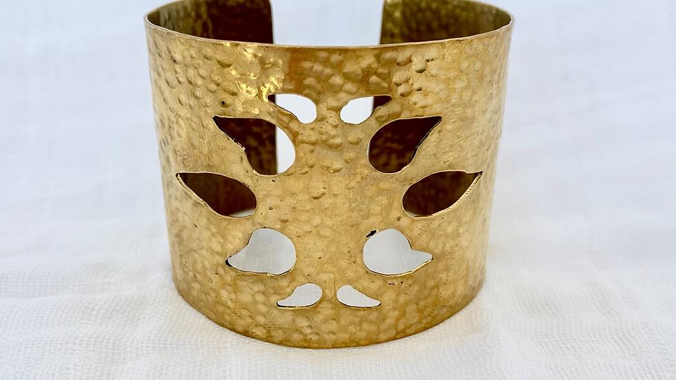 Brilliant Fern Cuff Bracelet