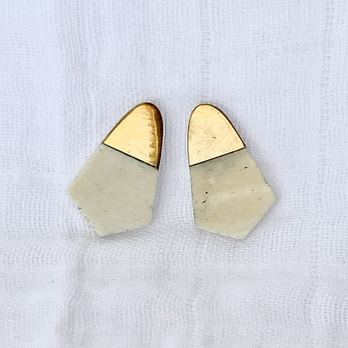 Ivory Foxglove Earrings