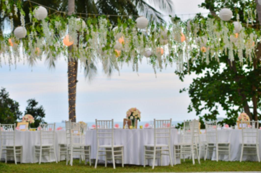WEDDING RECEPTION IN HAWAII