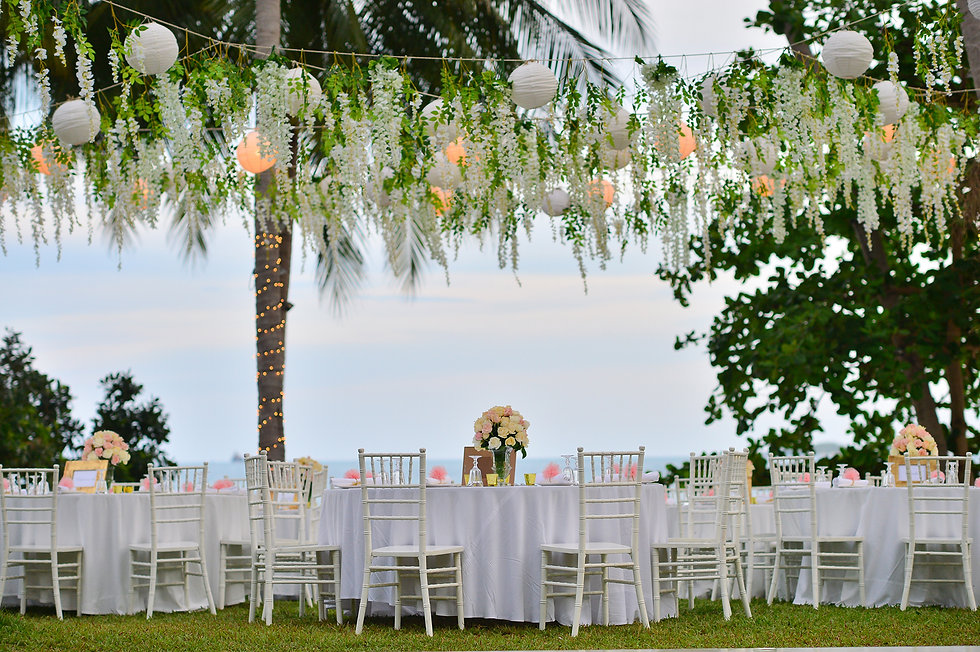 Tropical Wedding