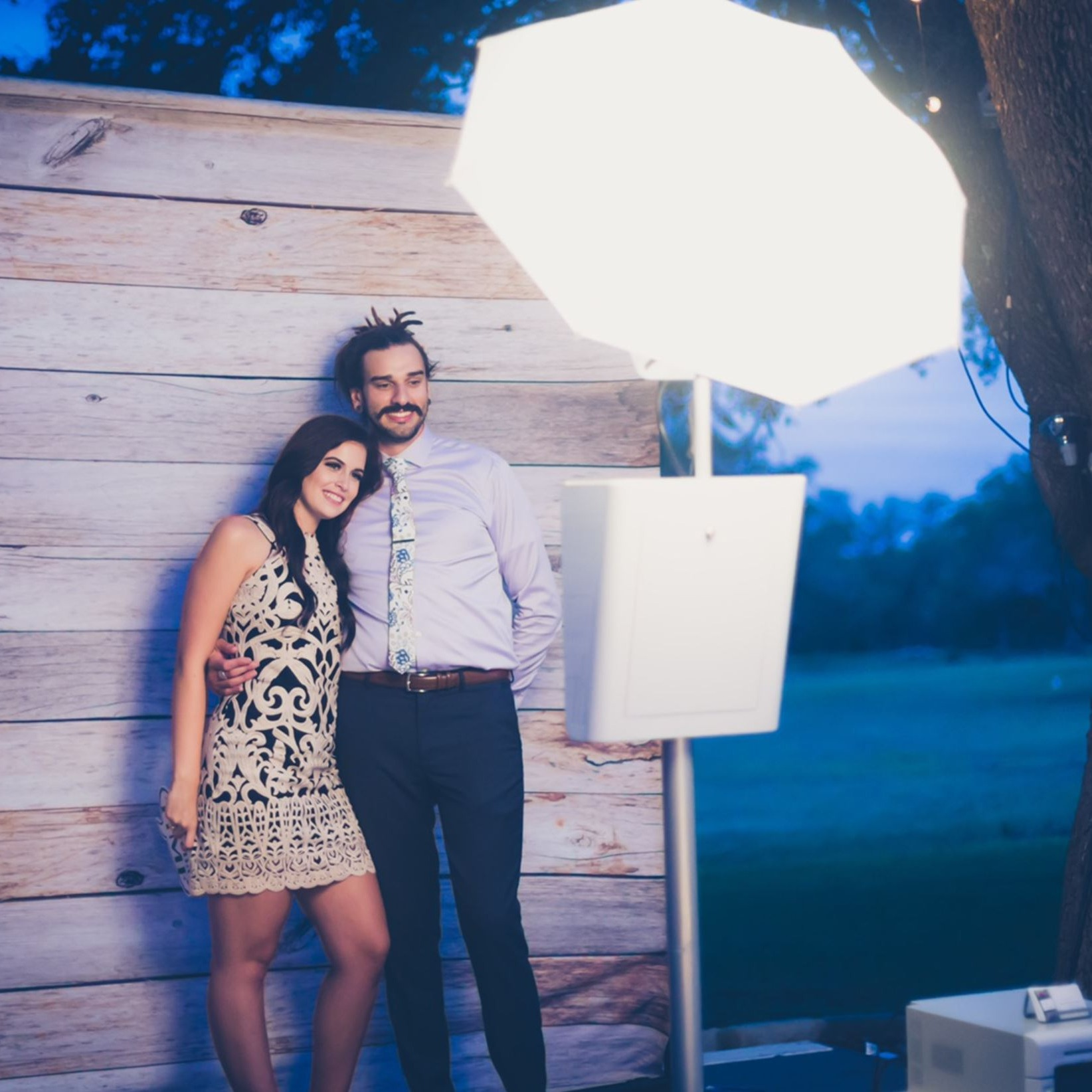 Photo Booth Outdoors
