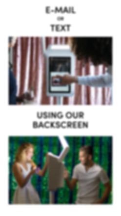 Picture showing photo booth