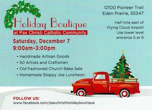 Pax Christi Holiday Sale!