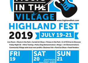 Highland Fest this weekend!
