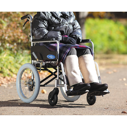 車椅子用 スワロフスキーレッグウォーマー(品番:6010)