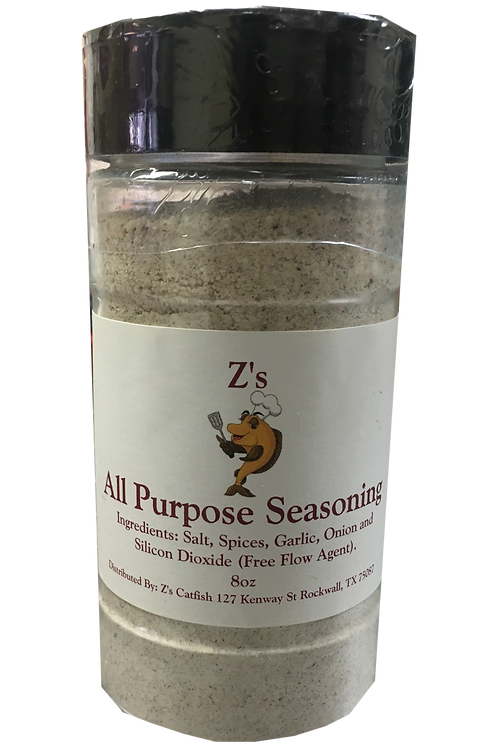 Z's Catfish All Purpose Seasoning