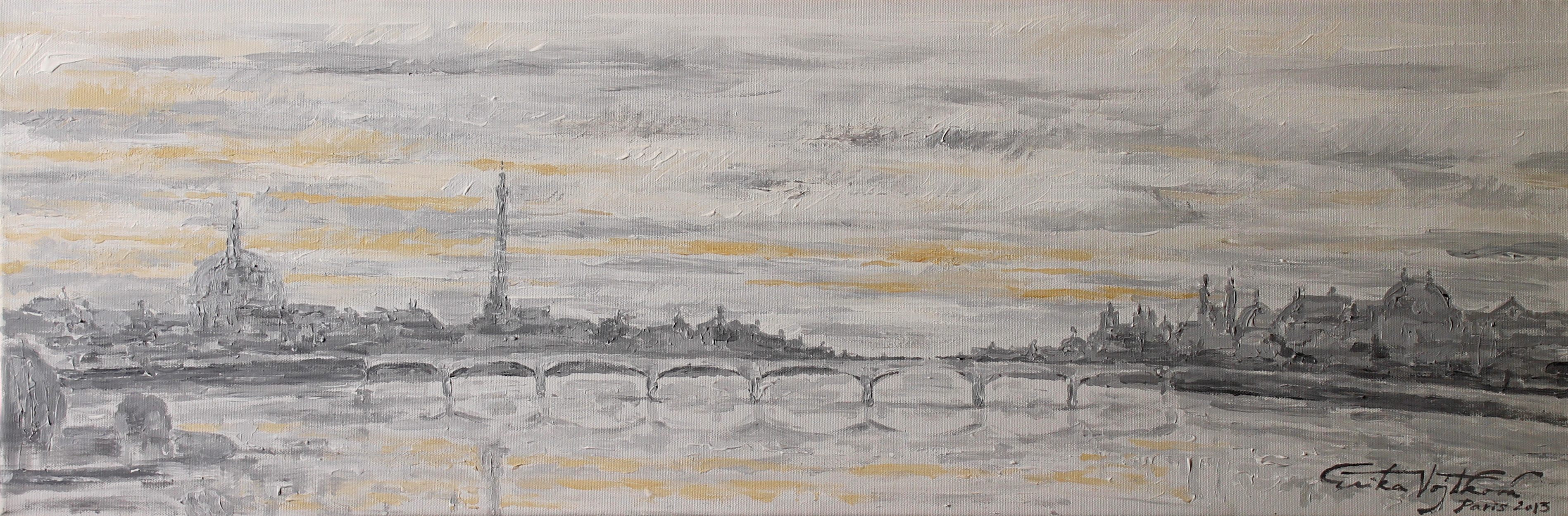 Sunrise in Paris 2013 - SOLD