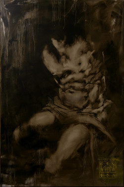 David, 150x100cm , oil on canvas