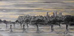 Paris in Sunset 2013