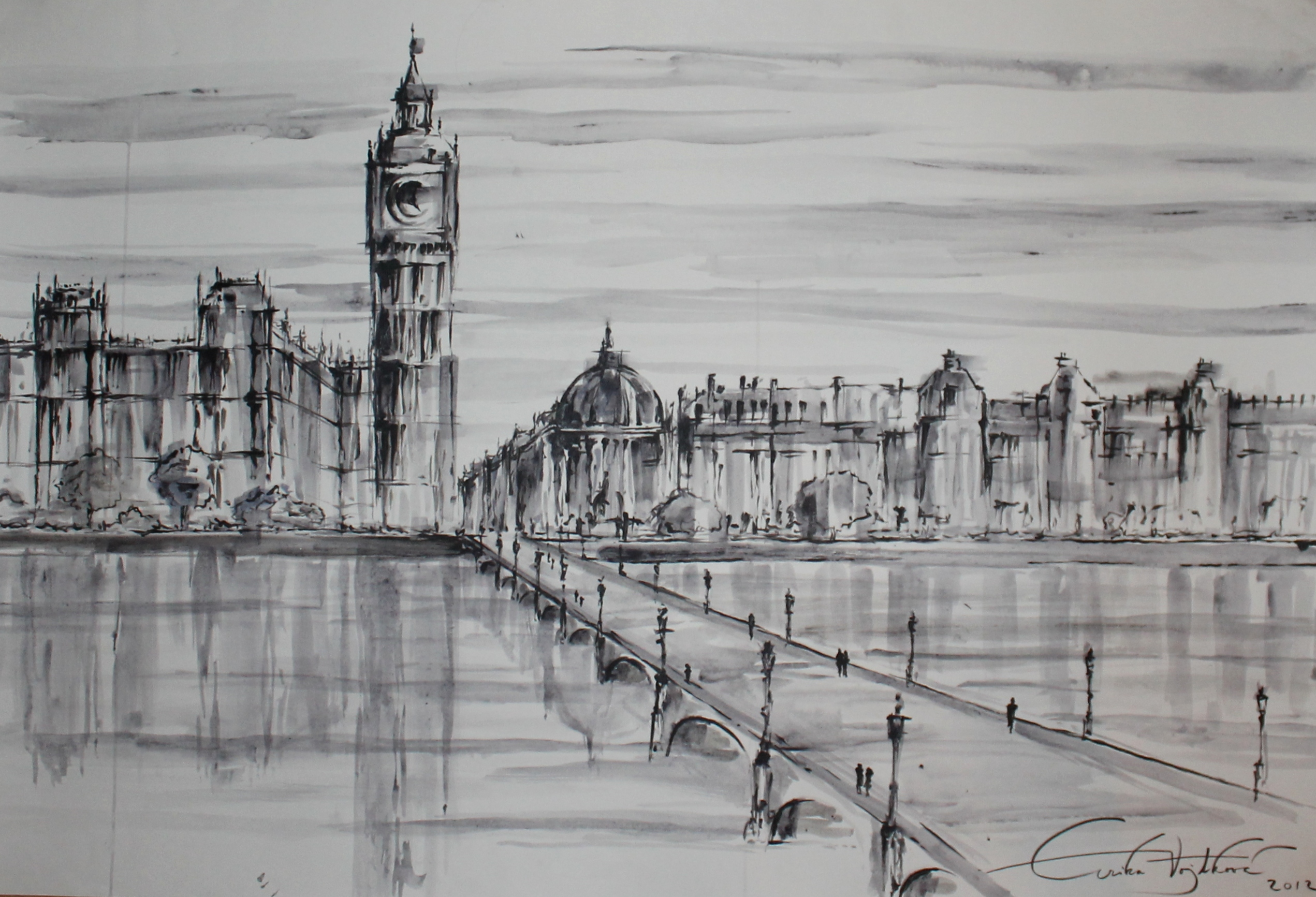 Westminster bridge 2012 - SOLD