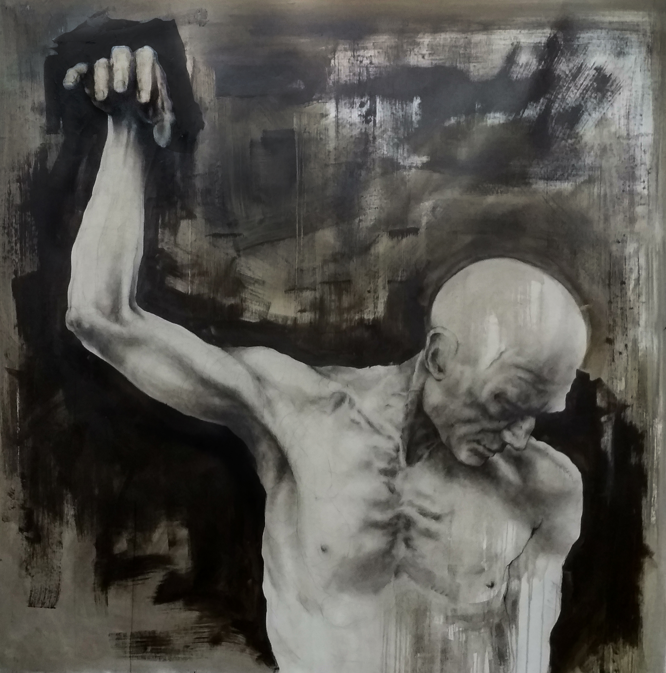 Humility, 140x140cm, oil on canvas