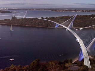 Have you seen the proposed 3 Points Bridge? - It would be a game-changer for Perth, the Western Subu