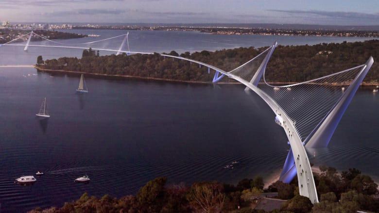 Image: 3 Points Bridge by Architects Hassell Studio - https://www.hassellstudio.com