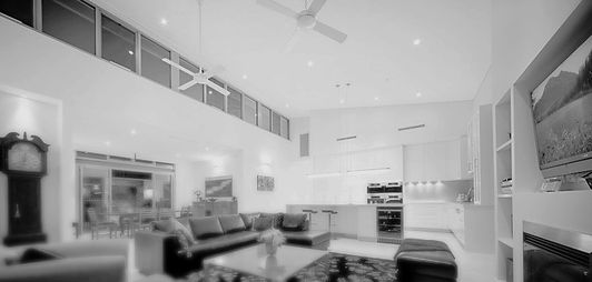 Perth Architects Gantier Architecture Claremont Residence Passive Solar Design Open Plan Living Room Kitchen Dining