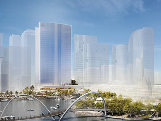 Hassell's 30 Storey Chevron Tower Approved for Elizabeth Quay