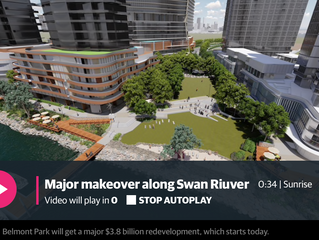 Construction starts on development for over 4000 riverside apartments in Perth