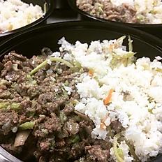 Beef Stroganoff w/ Veggie Cauli Rice