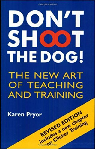 Karen Pryor's Don't Shoot the Dog. A book that explains the foundation of learning that helps us with dog training