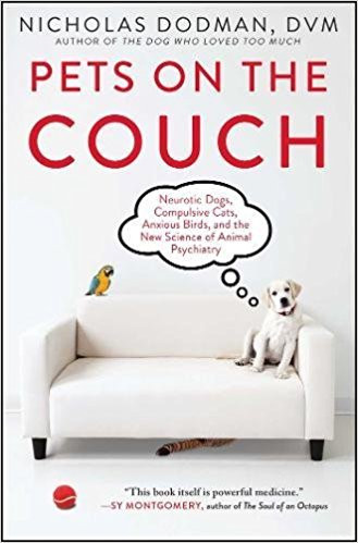 Nicholas Dodman's Pets on the Couch an excellent book on how pet behavior is linked to medical conditions
