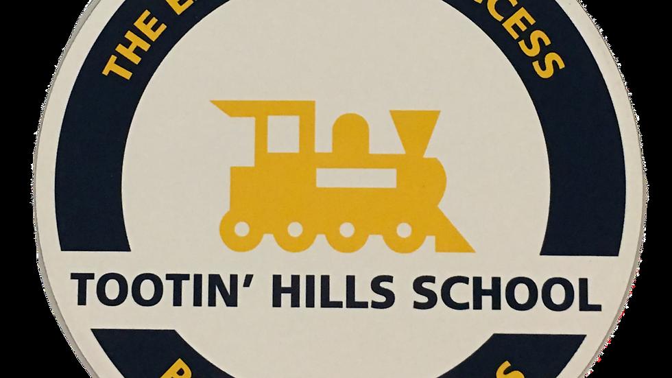 Tootin' Hills Car Magnet