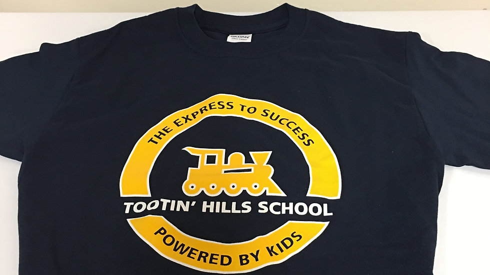 Tootin' Hills Navy T-shirt