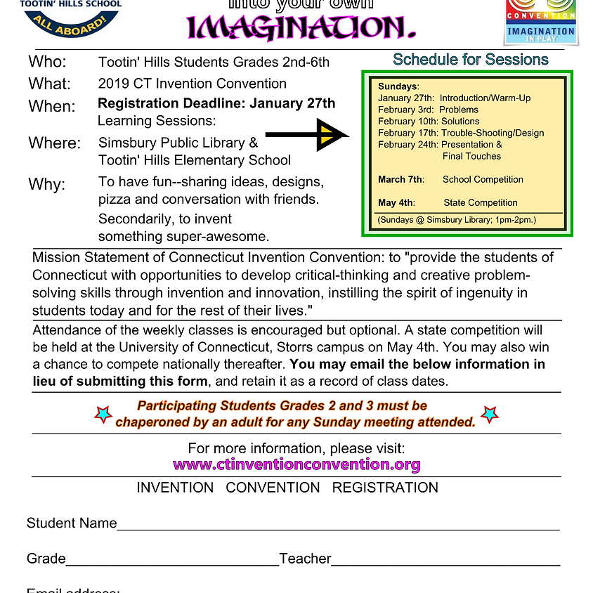 Invention Convention Learning Sessions
