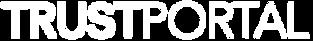 TrustPortal Logo Original White Transpar