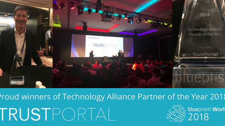 Blue Prism Technology Alliance Partner of the Year 2018