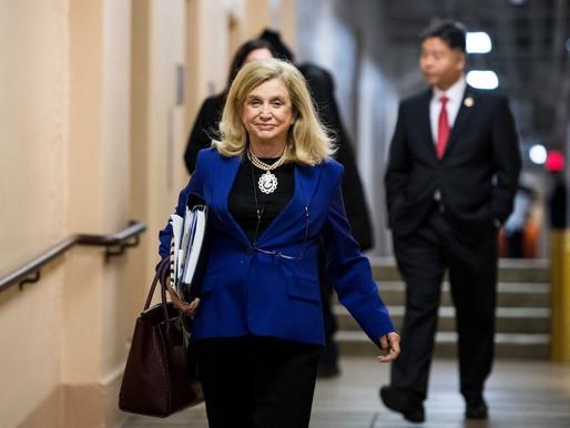 CNN: Congresswoman Maloney: Trump misled us in his economic report. I'm setting the record str