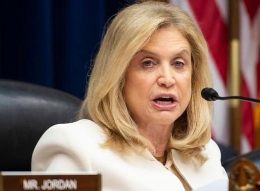US Congresswoman Maloney urges release of political prisoners in Turkey