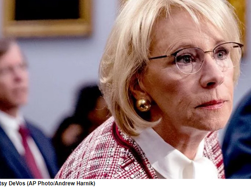 Lawmakers criticize Betsy DeVos after rule change slashes funding for more than 800 rural schools