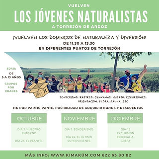 Jóvenes Naturalistas Torrejón de Ardoz