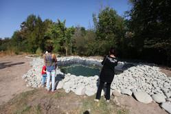"""Nurlan Kalchinov and Veronika Kapishnikova (Kyrgyzstan) """"The Pond"""""""