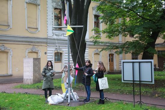 Питер Хаакон Томпсон «Cигнальные флаги для Cанкт-петербурга»