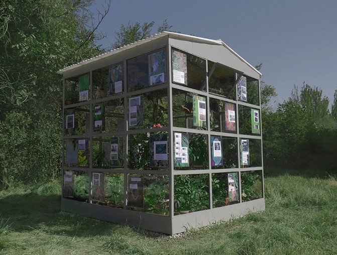 "Sergei Shabokhin (Belarus) ""Sto()re: The reconstruction of the Greenhouse"""