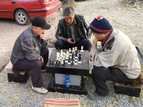 Чинара Ниязова (Кыргызстан) «Шахматный клуб»