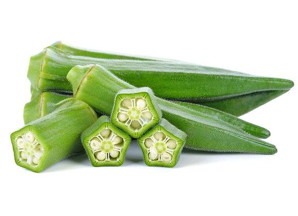 Freeze- Dried Organically Grown Okra