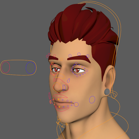Creating a Face Rig With Joints and Blend Shapes